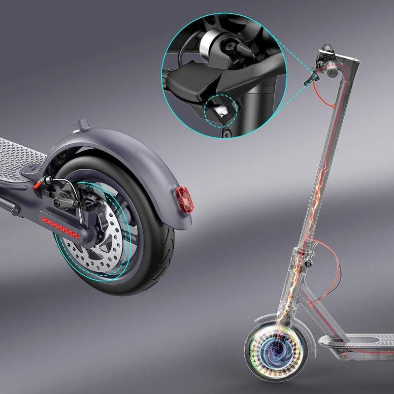 Macwheel MX1 Electric Scooter brakes