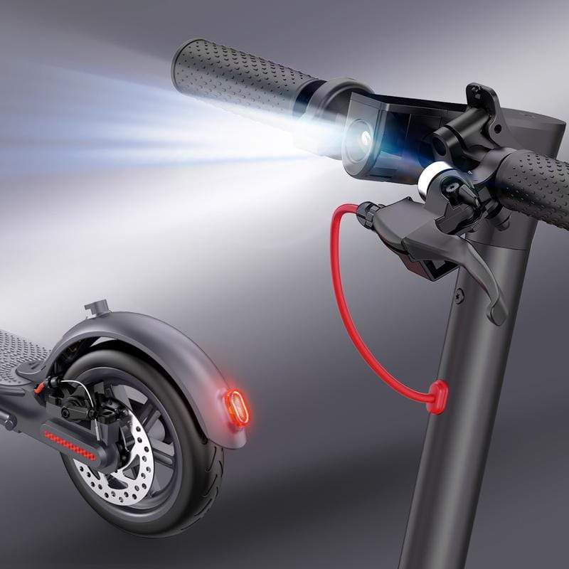 Macwheel MX1 Electric Scooter lights and brakes
