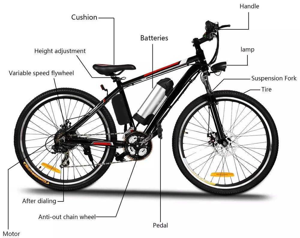 ANCHEER electric bike specifications