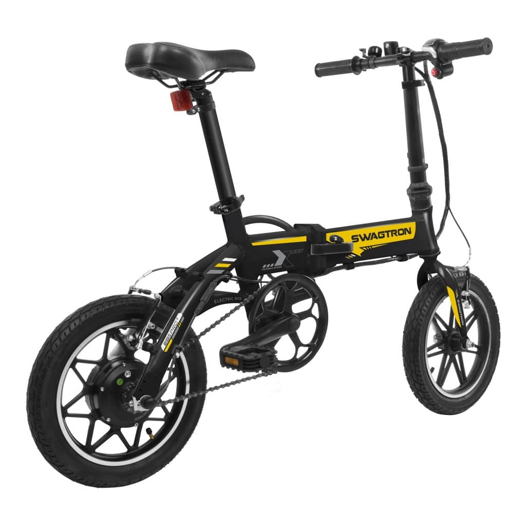 Swagtron EB-5 Pro Electric bike front
