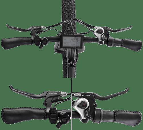 ECOTRIC fat tire electric bike handlebars