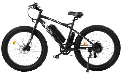 ECOTRIC fat tire electric bike side view