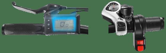 Speedrid e-bike display